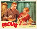 Freaks Vintage Lobby Card RARE 1949, couple