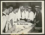 John Dillinger photos - Original Death Scene Wire Service Photo1