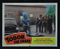 Tobor the Great Orignal Vintage Movie Poster lobby card #7
