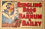 Barnum Bailey Vintage Circus Poster Equestrian 1931