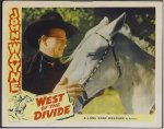 West of Divide, John Wayne lobby card 1930's