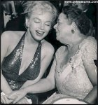 MARILYN MONROE at the APRIL in PARIS BALL she meets JFK