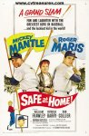 Safe at Home, Mantle & Maris, 1962, One Sheet movie posters