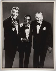 "Frank-Dean-Sammy ""RAT PACK"" Autographed Photo JSA Certified"