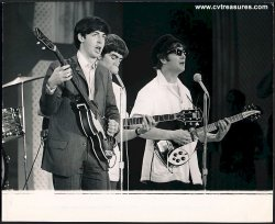 BEATLES Original Photo ED SULLIVAN Show 1964