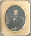 Abraham Lincoln Engraving Beautifully Mat Framed 1860s