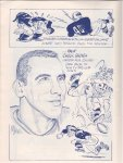 New England Patriots 1960 Vintage Football Game Program Hlloween
