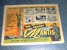 Deadly Mantis, 1957 Horror Classic Title Card
