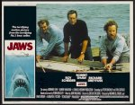 Jaws Original Release lobby card movie poster 1975 2