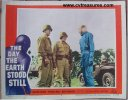 Day the Earth Stood Still vintage lobby card '51 Generals Klaatu