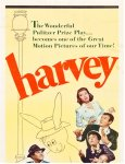 HARVEY Original Vintage Movie Poster Insert James Stewart 1950