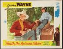 Neath the Arizona Skies, John Wayne lobby card movie poster '34