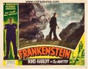 Frankenstein Original Vintage Movie Poster Lobby Card color 51