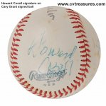 Cary Grant Rare Autographed Signed Baseball PSA Certified