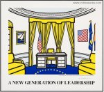 Roy Lichtenstein Art Artwork Oval Office SIGNED Print Lithograph