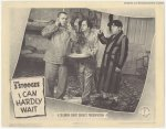 Three Stooges Can Hardly Wait Vintage Lobby Card Movie Poster