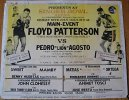 Floyd Patterson vs. Pedro Agosto - ON SITE Poster