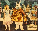 Alice in Wonderland Vintage Movie Poster JUMBO Lobby Card