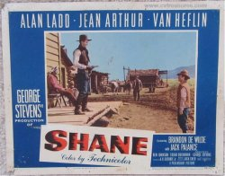 Shane Original Vintage Lobby Card Movie Poster