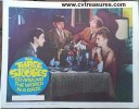 Three Stooges 1960's Go Around the World in a Daze Lobby Card