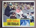 Pride of the Yankees, 1942 Gary Cooper,Babe Ruth lobby card