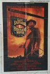 High Plains Drifter Vintage One Sheet Movie Poster Clint Eastwoo
