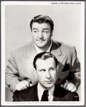Abbott and Costello Original vintage Studio Portrait Photo 1941