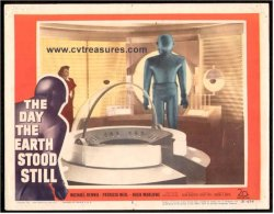 Day the Earth Stood Still Horror Movie Posters lobby card, 1951