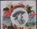 BUFFALO BILL WILD WEST SHOW ORIGINAL 1893 PROGRAM CHICAGO WORLD'