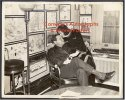 Babe Ruth Wire Photo 1939 in His Apartment