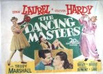 "Laurel & Hardy ""Dancing Masters"" Half Sheet 1943"