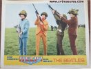Beatles Help Lobby Card movie poster rifles 1965