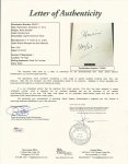 "Harry Houdini Stunning Signed Autographed Book ""Miracle Mongers"""