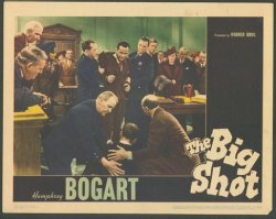 Big Shot Classic Film Poster Lobby Card 1942 Humphrey Bogart