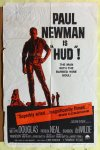 Hud, Paul Newman, Vintage One Sheet movie poster