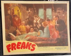 Freaks Original Vintage Lobby Card movie poster pinheads