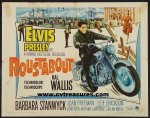 Roustabout Elvis Presley half sheet movie poster 1964