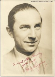 Bela Lugosi Authentic Vintage Autographed Signed Photo