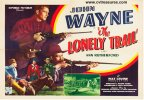 Lonely Trail Vintage Western Movie Poster Half Sheet John Wayne
