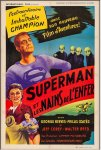 Superman and the Mole Men Vintage Movie Poster George Reeves