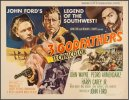 3 Godfathers Original Vintage Movie Poster Half Sheet RARE Style