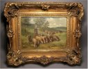 Charles Emile Jacque Artist Paintings Buy Sell
