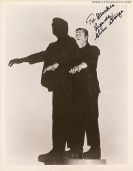 Frankenstein: Glenn Strange Authentic Autographed Signed Photo