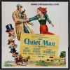 Quiet Man Vintage Movie Poster Six Sheet John Wayne 1952