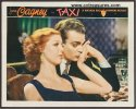 Taxi Original Vintage Lobby Card JAMES CAGNEY 1932