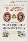Wedding in Monaco Grace Kelly Vintage Movie Poster one sheet '56