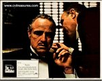 Godfather vintage movie poster lobby card 1971 Brando