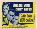 Angels With Dirty Faces Vintage Movie Poster Title Card Bogart