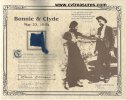 Bonnie & Clyde Memorabilia Clyde Barrow death pants belt loop