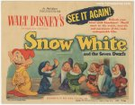 Walt Disney's Snow White and the Seven Dwarfs Title Card Movie P